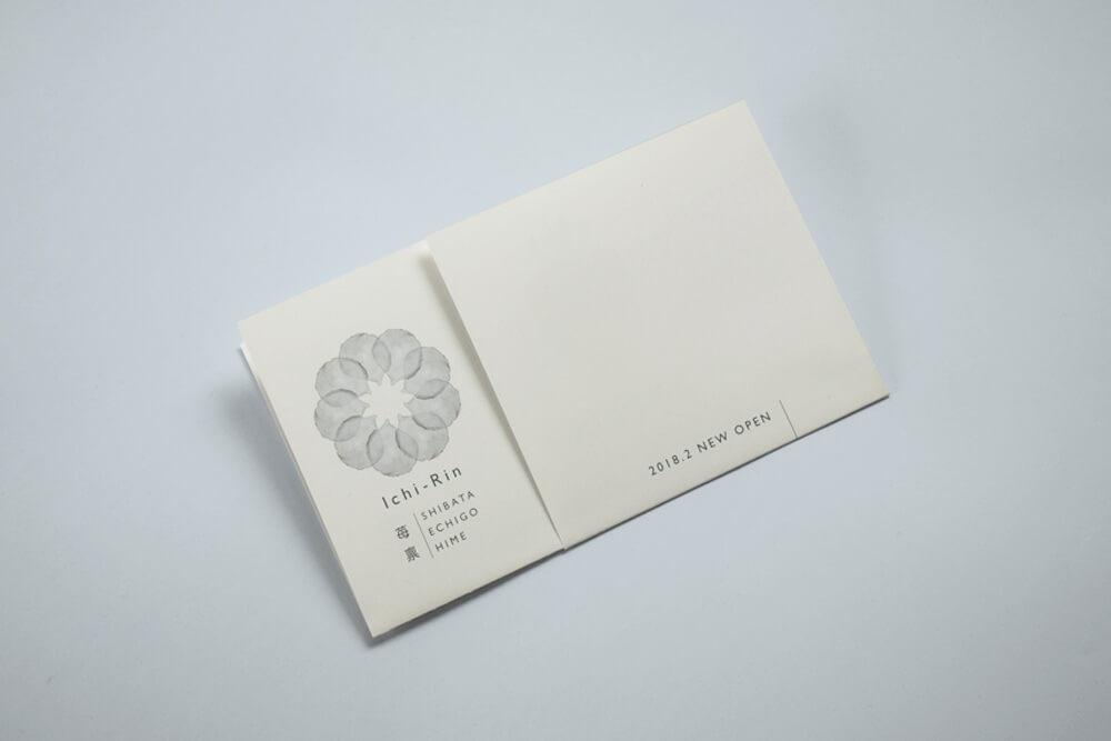 新潟県新発田市のいちご越後姫の農家・加工・直売所 Ichi-Rinパンフレット・パッケージデザイン